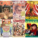 3 Colecc. Revistas A Elección Robin Wood - Nippur Dago Y Más