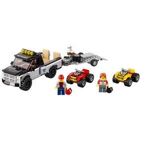 Lego City - 60148 - Equipe De Corrida De Veículo Off-road
