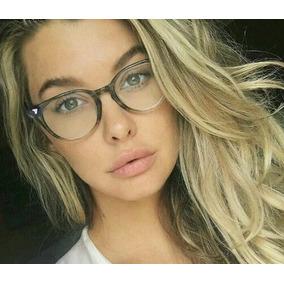 Armação Óculos Feminina De Grau Moderna - Frete Gratis