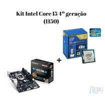 Kit Placa Mae Ga H81m-h + Proc Core I5-4460 Box