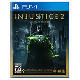 Injustice 2 Ultimate Edition Ps4 Digital