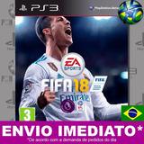 Fifa 18 Ps3 Psn Completo Em Português - Mídia Digital