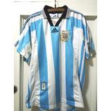 Camiseta Seleccion Argentina adidas 1998 Epoca Batistuta