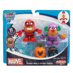 Señor Sr Cara De Papa Marvel X2 Spiderman Hasbro