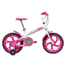 Bicicleta Caloi Ceci Aro 16 Quadro Aço Carbono