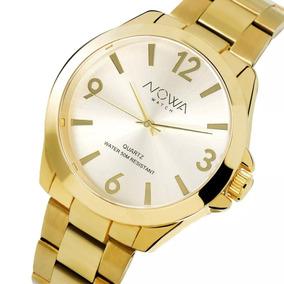 88900e70099 Relogio Feminino Aço Inoxidavel Dourado - Relógios De Pulso no ...