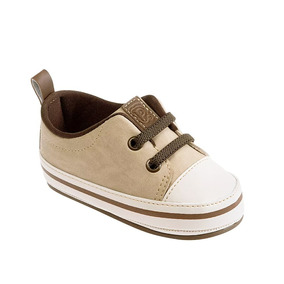 ed6d9d88bf902 Sapatênis Infantil Lacoste Bege E Marron - Sapatos no Mercado Livre ...