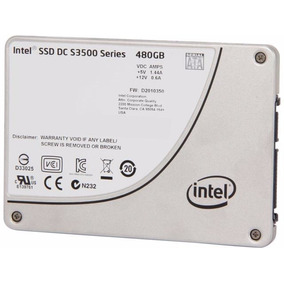 Disco Duro Solidointel S3500 Series 480gb Ssd