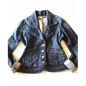 Blazer Cahqueta Denim Talla S/m Dkny Jeans