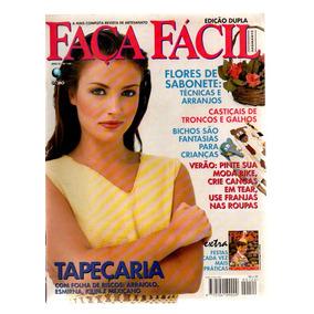 Revistas Faça Fácil Editora Globo Kity Com 8 Revistas