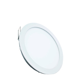 Panel Led ( 12w ) Redonda Incrustada Luz Blanca Deko