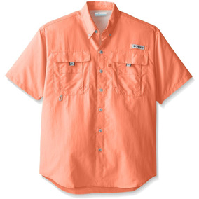Camisa Columbia Pfg Bahama Ii, Manga Corta, Hombre, Talla Xs