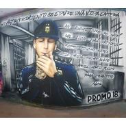 Bandera De Egresados Graffiti