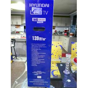 Televisor Hyundai Ultra Hd 4k, 55 Pulgadas, Curved