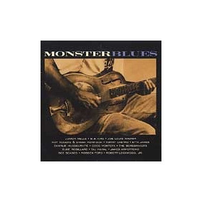 Monster Blues Cd Nuevo He Boneshakers James Armstrong C.d.