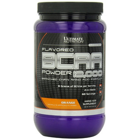 Flavored Bcaa 12,000 457 G Orange - Aminoácido