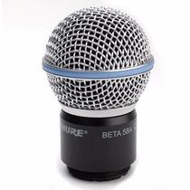 Cápsula Microfone Shure Original Sem Fio Beta58a