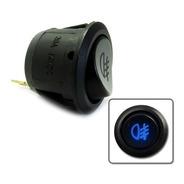 Botão Farol Milha Neblina Universal Led Azul Interruptor