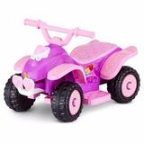 Quatrimoto Para Niña- Kid Trax 6v Disney Princess Quad Ride