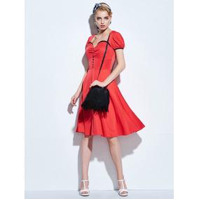 Vestido Vintage Importado Talle L