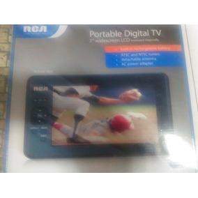 Tv Portátil 7 Rca Con Batería Interna(negociable)