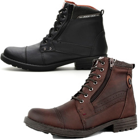 Bota Casual Kit Promocional 2 Pares Masculino Fort Way