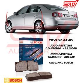 Pastilha Freio Bosch Dianteiro + Traseiro Vw Jetta 2.5 09-13