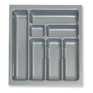Cubiertero Organizador Plastico 45 X 49 Cajon De Cocina