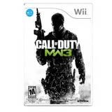Call Of Duty Modern Warfare 3 Mw3 Wii Nuevo