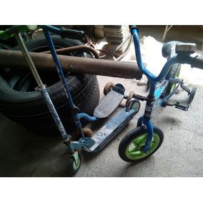 Bicicleta Patin Patines Los Tres Por 500