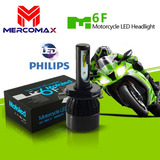 Foco Led H4 4000lm Led Chip Philips Certificado Motoled