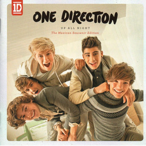 One Direction Up All Night México Cd Sony 2011 !
