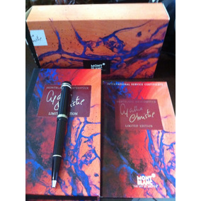 Montblanc Agatha Christie Edição Ltda