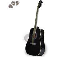 Guitarra Acustica Custom Parquer Original Funda Pua Garantia