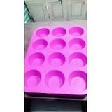 Molde Silicona Cupcake X 12 + Obsequio