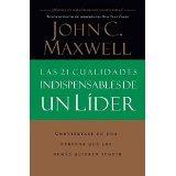 Libro Las 21 Cualidades Indispensables De Un Lider *cj