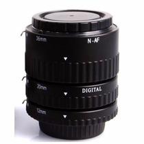Tubo De Extensión A F Lente Nikon Para Macro