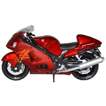 Welly-moto Miniatura 1:18 Suzuki Hayabusa Vermelha Dmc3028