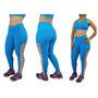 Calça Legging Suplex Roupa Fitness Academia Aerobica Lsfit