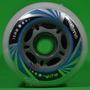 Kit 8 Rodas Rodinhas Para Patins Roller 76mm Entrega Rápida