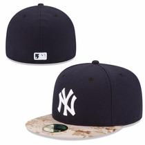 New Era Gorra Yankees De Ny 5950 7 3/8 Memorial On Field Nva