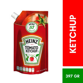 Ketchup Tomato Doypack 397g Heinz