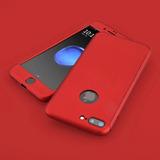 Funda 360 Color Rojo Iphone 5 5s Se 6plus 6s Plus 7 7+