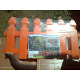 Cerca Decorativa Plastica 21cm Alto X 151 Cm De Largo