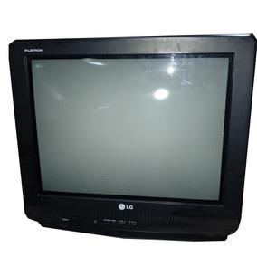 Tv Lg Flatron De 21 Sin Control Remoto Analógica