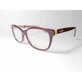 Óculos De Grau Feminino Contrast Brown Graphite + Brinde