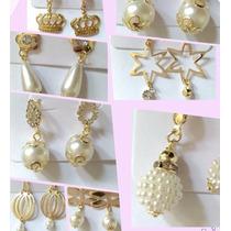 Brinco Folheado Dourado A Ouro Barato Varios Modelos