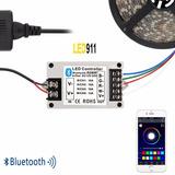 Controladora Tira Led 5050 Rgb Bluetooth 12v/24v Envio Grati