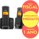 Telefone Sem Fio Id Chamada Tsf8002 + Ramal Bina Viva Elgin