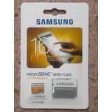 Tarjeta De Memoria Sd Samsung 16gb Original Clase 10